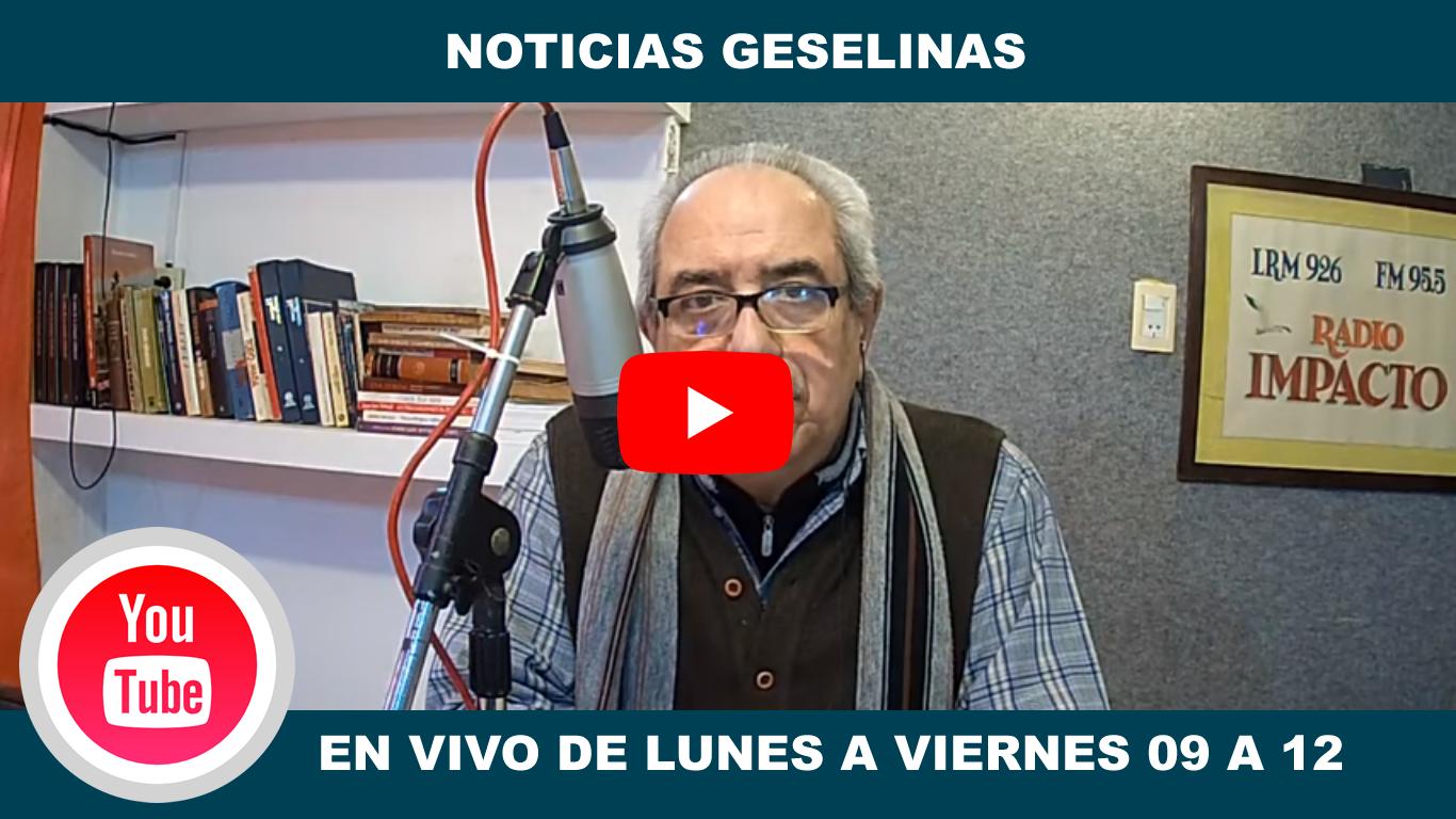 Canal de YouTube FM Impacto Villa Gesell
